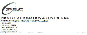 Process Automation & Control, Inc.