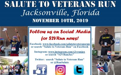 Save the Date for the 2019 Salute Veterans Run