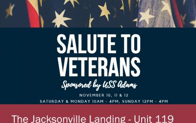 Salute To Veterans Celebration At The Jacksonville Landing